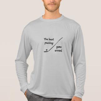 Hockey-Fan-Slogan T-Shirt