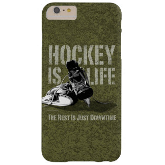 Hockey ist Leben Barely There iPhone 6 Plus Hülle