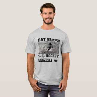 Hockey-kundengerechter T - Shirt kurz, kurze Hülse