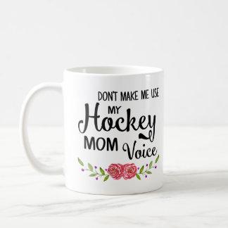 Hockey-Mamma-Stimme Tasse