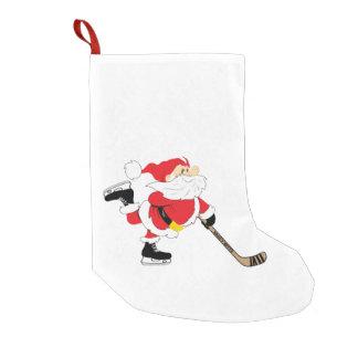 Hockey-Sankt-Skaten-Strumpf Kleiner Weihnachtsstrumpf