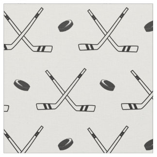 Hockey x in Schwarzweiss Stoff