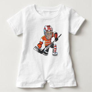Hockeybabyspielanzug Baby Strampler
