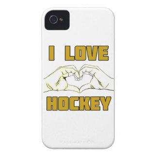 Hockeyentwurf iPhone 4 Hülle