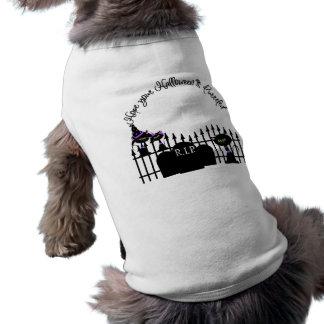 Hoffen Sie, dass Ihr Halloween Purrfect Haustier-T Shirt