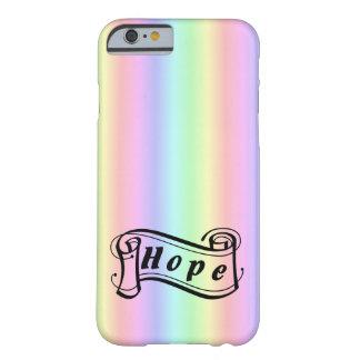 Hoffnung auf Regenbogen Barely There iPhone 6 Hülle