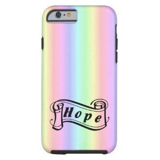 Hoffnung auf Regenbogen Tough iPhone 6 Hülle