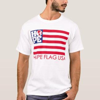 HOFFNUNG Flagge USA T-Shirt