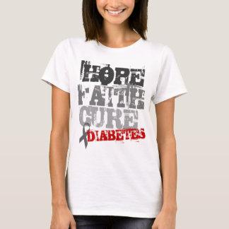 Hoffnung. Glaube. Heilung. Diabetes T-Shirt