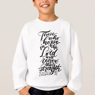 Hoffnung im Lord Brush Script Sweatshirt