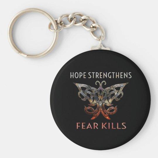 Hoffnung Keychain Standard Runder Schlüsselanhänger