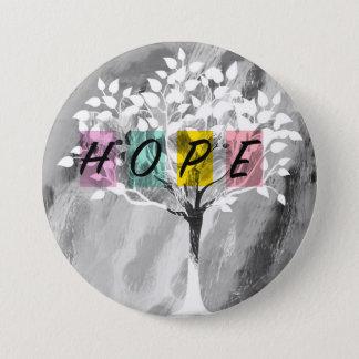 Hoffnung Runder Button 7,6 Cm