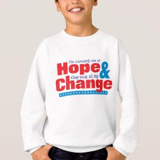 Hoffnung u. Änderung Sweatshirt