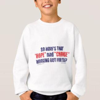 Hoffnung-und-Änderung-DST-T-STÜCK Sweatshirt