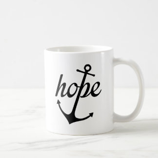 Hoffnung verankert das Soul (Hebräer-6:19) Kaffeetasse