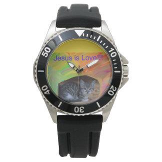 Hoffnungs-heilende Kirche Jesus ist Armbanduhr
