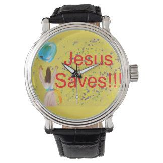 Hoffnungs-heilende Kirche Jesus rettet Armbanduhr