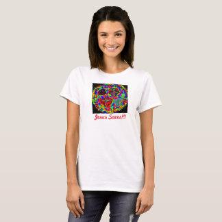 Hoffnungs-heilende Kirche Jesus rettet den T - T-Shirt