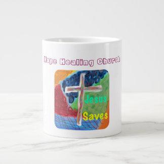 Hoffnungs-heilende Kirchen-christliche Jumbo-Mug