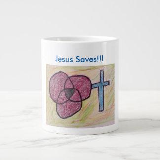Hoffnungs-heilende Kirchen-christliche Jumbo-Tasse