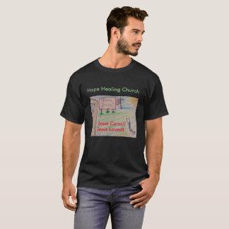 Hoffnungs-heilende Kirchen-christlicher Jesus-T - T-Shirt