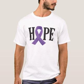 Hoffnungs-lila Band T-Shirt