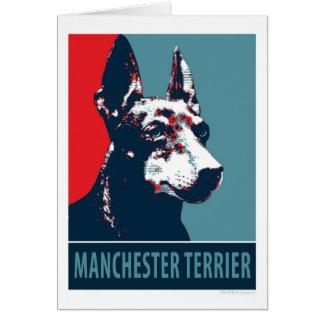 Hoffnungs-Parodie-politisches Plakat Manchesters Karten