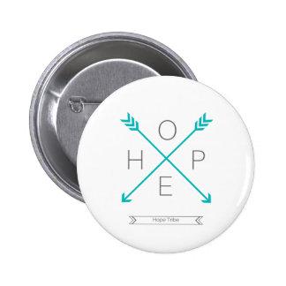 Hoffnungs-Stamm - Gesundheits-Bewusstsein - Knopf Runder Button 5,7 Cm