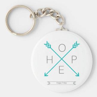 Hoffnungs-Stamm-Schlüsselkette - Pfeile Standard Runder Schlüsselanhänger