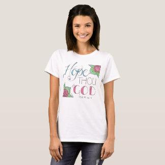 Hoffnungs-Tausend im Gott-T-Shirt T-Shirt
