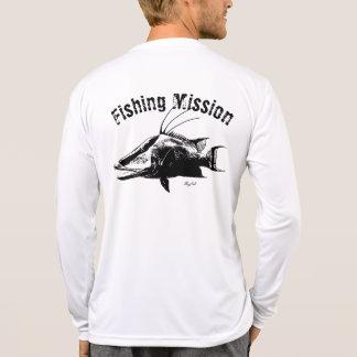 Hogfish-Fischen-Auftrag-Shirt T-Shirt