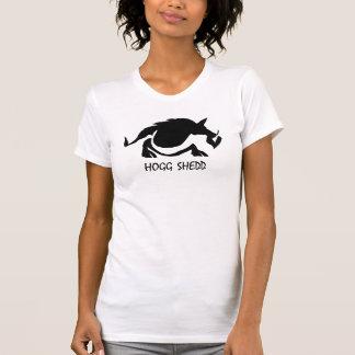 Hogg Shedd die Tscheiße Frau T-Shirt
