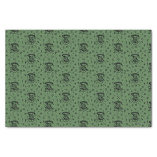 HOGWARTS™ grünes Muster Seidenpapier