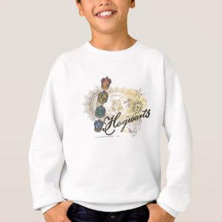 Hogwarts Logo und Profossors 2 Sweatshirt