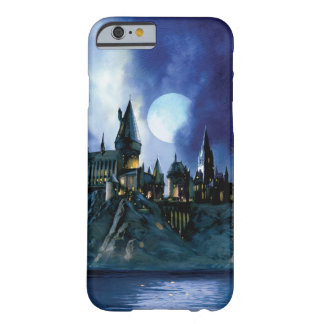 Hogwarts par clair de lune coque iPhone 6 barely there