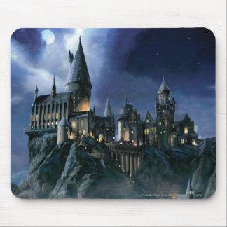 Hogwarts Schloss nachts Mousepad