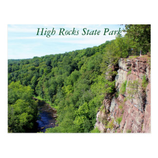 Hohe Felsen-Staats-Park-Postkarte Postkarte