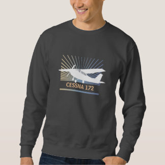 Hohe Flügel-Flugzeuge Sweatshirt