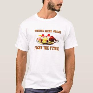 Hohe Kalorien-Zeit-Reise T-Shirt