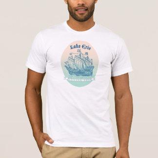 Hohe Schiffe des Eriesees für Reise-Ladenn für T-Shirt
