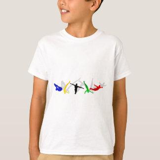 Hohe Taucher-hoher TauchSprungbrett-Plattformsport T-Shirt