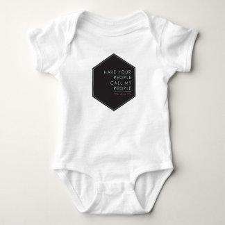 Hohe Wartung Baby Strampler