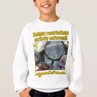 Höhen-Beschränkungen Sweatshirt
