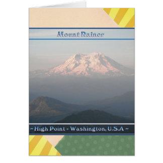 HÖHEPUNKT der Mount Rainier Washington Karte