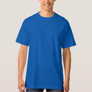 Hoher das Hanes der Männer T - Shirt-TIEFES Blau T-Shirt