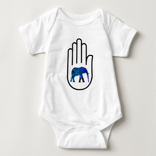 Höhere Erleuchtung Baby Strampler