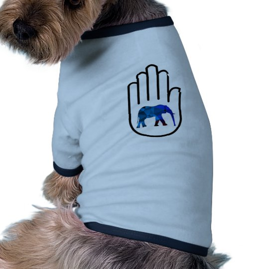 Höhere Erleuchtung Ringer Hunde-Shirt