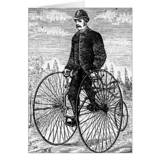 Hohes Rad-Fahrrad Trike des Rad-drei Karte