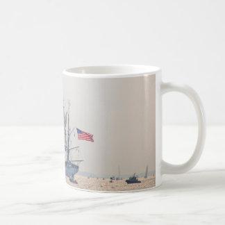 Hohes Schiff, Schererschiff, Segel, US-Küstenwache Kaffeetasse