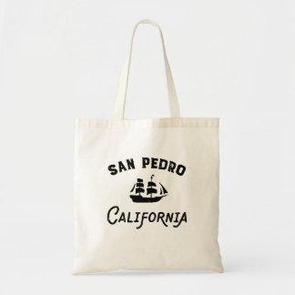 Hohes Schiffs-Segeln San Pedro Kalifornien Tragetasche